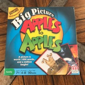 Other - NWT Big Picture Apples to Apples game